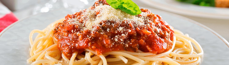 La pasta más famosa de todas, spaghetti a la Bologñesa